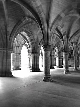 Glasgow University Cloisters by Michelle Hynes