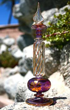 Veronica Vandenburg - Glass and Granite in Purple