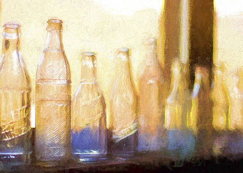 Glass Bottles by Emily Smith