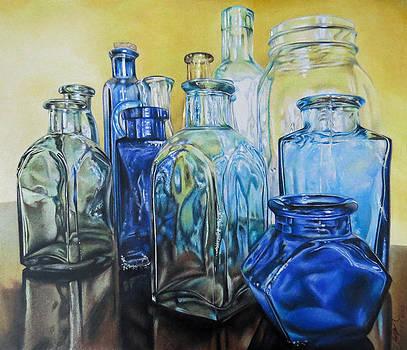 Glass Bottles by Tara Aguilar