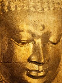 Stuart Brown - Glass Buddha Head # 5