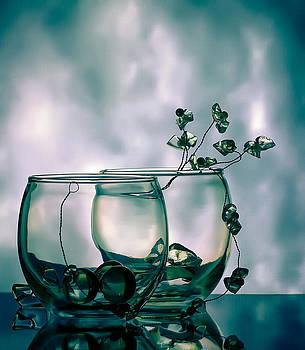 Glass Duo by Anna Rumiantseva
