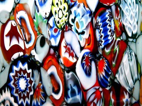 Glass Flowers 1 by Kay Mathews