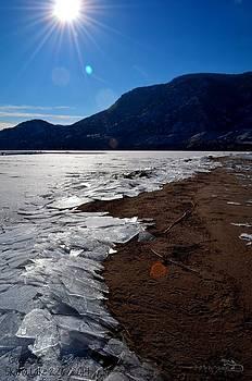Guy Hoffman - Glass Ice - Skaha Lake 2/6/2014