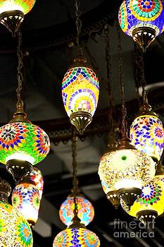 Glass lanterns  by Bobby Mandal