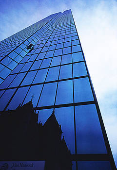 Glass-Lots Of Glass-Reflections-John Hancock Bldg-Boston by Thomas D McManus