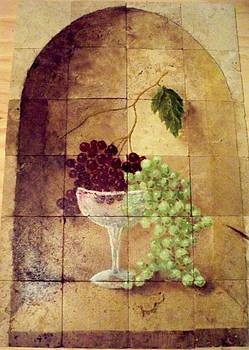 Glass of Grapes by Patrick Trotter