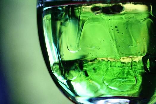 Glass of Green by Rachelle Johnston