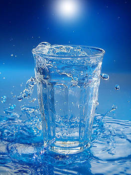 Glass Of Water by Martin Joyful