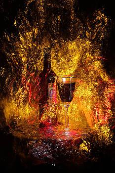 Glass of Wine by Sergey Churkin