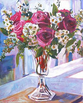 David Lloyd Glover - GLASS ROSES