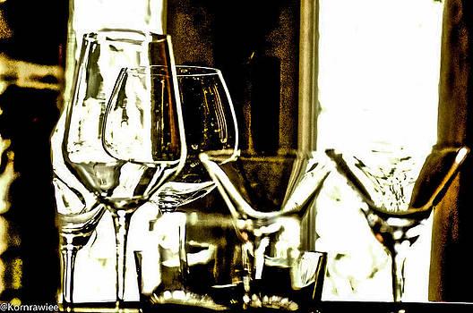 Glasses displayed by Kornrawiee Miu Miu