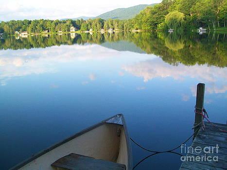 Glassy Lake by Linda Zolten Wood
