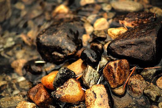Glassy Rocks by Anthony Bean