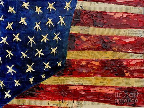 Glazed Flag by Aimee Vance