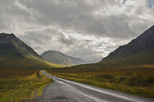 Jane McIlroy - Glen Etive in the Scottish Highlands