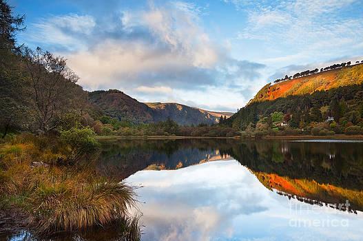 Glendalough Dawn by Derek Smyth