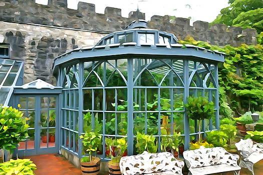 Charlie Brock - Glenveagh Garden Gazebo - Irish Art
