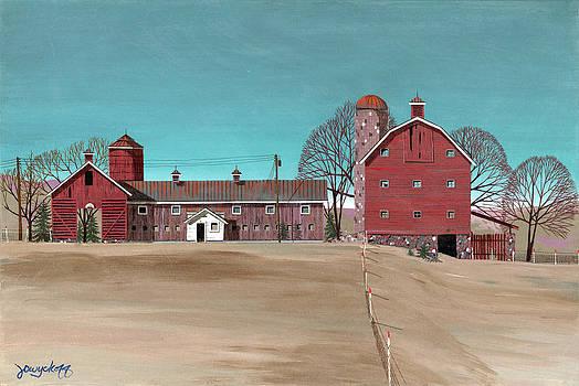 Glidden Farm by John Wyckoff