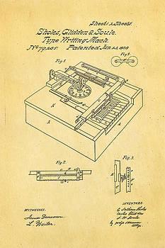 Ian Monk - Glidden Type Writer Patent Art 1868