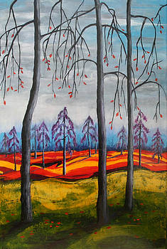 Kathy Peltomaa Lewis - Glimpse Of Autumn