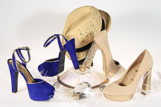 Glitzy Lady Shoes by Danielle Allard