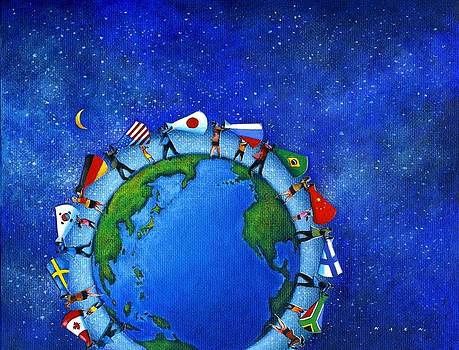 Global communication by Kazu Nitta
