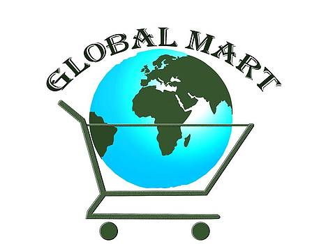 Global Mart Logo by Mihyar  Abdelgalil