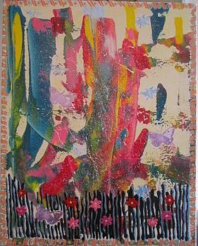 Glorious Garden by Christal Kaple Art