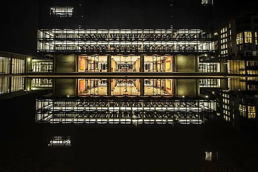 Glorious Modern Architecture at night by Sven Brogren