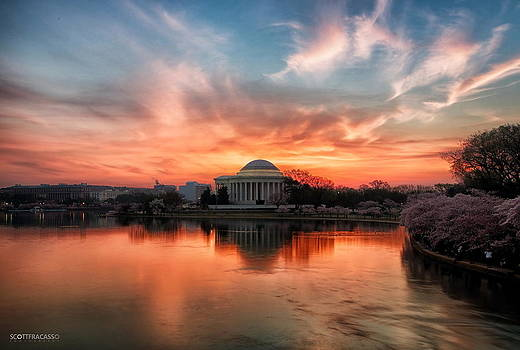 Glorious Sunrise I by Scott Fracasso