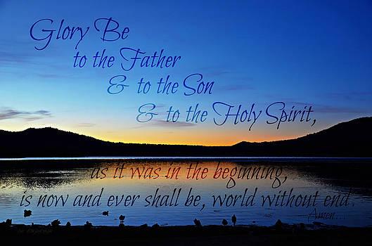 Sharon Tate Soberon - Glory Be prayer