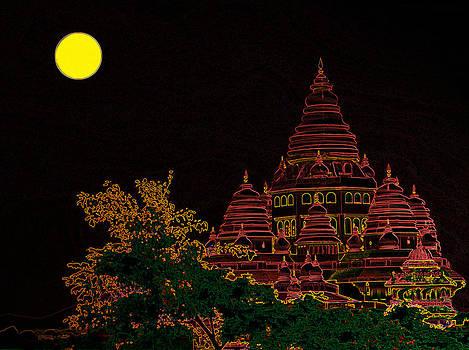 Bliss Of Art - Glow of Temple
