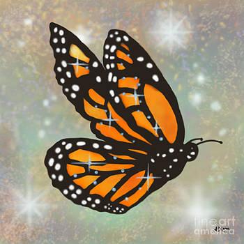 Glowing Butterfly by Audra D Lemke