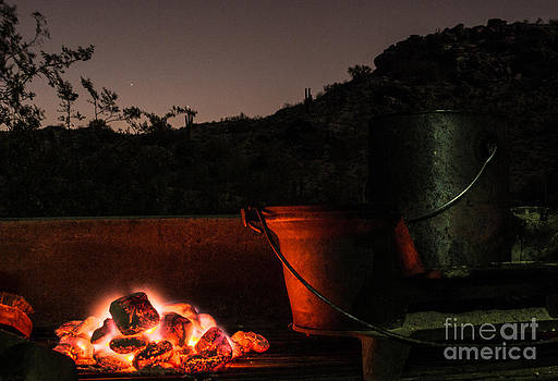 Glowing Coals by Patty Descalzi