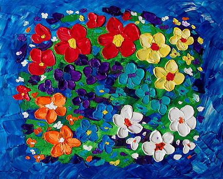 Glowing flowers by Mariana Stauffer