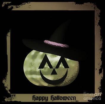 Eva Thomas - Glowing Halloween Pumpkin