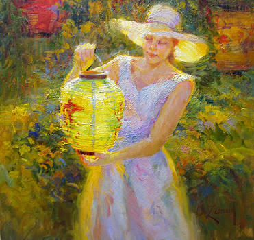 Glowing Lantern by Diane Leonard