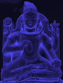 Bliss Of Art - Glowing Shiva