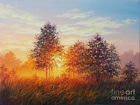 Glowing Woods by Varvara Harmon