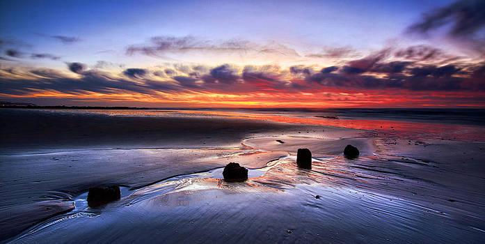 Glyne Gap Sunrise by Mark Leader