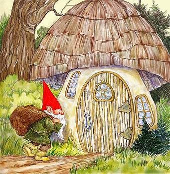 Peggy Wilson - Gnome and Toadstool Home