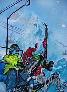 Gnome Chomp Ski by Jacob Wayne Bryner