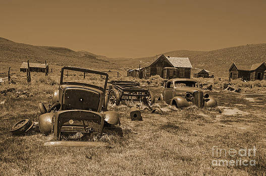 Stephen Whalen - Go For A Ride in Sepia