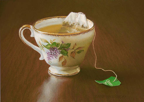 Go Green Tea by Barbara Groff