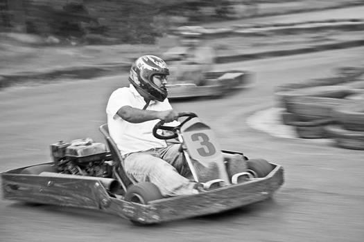 Kantilal Patel - Go Kart left hand bend