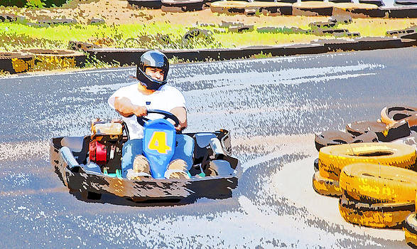 Kantilal Patel - Go Karting and racing
