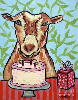 Goat's Birthday by Jay  Schmetz