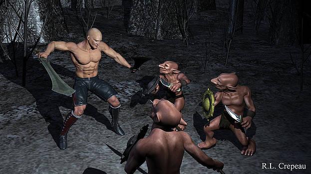 Robert Crepeau - Goblin Attack