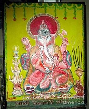 God Ganapati by M Bhatt
